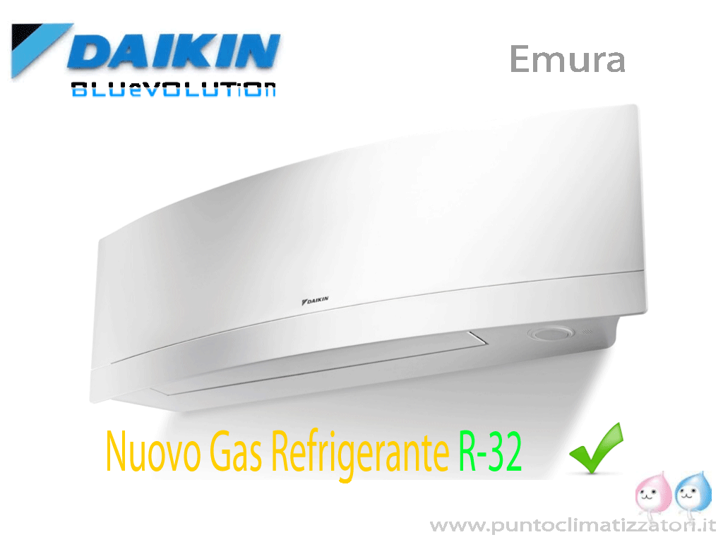 emura daikin ftxj35mw unita interna inverter a parete 12000 btu pompa di calore punto clima. Black Bedroom Furniture Sets. Home Design Ideas