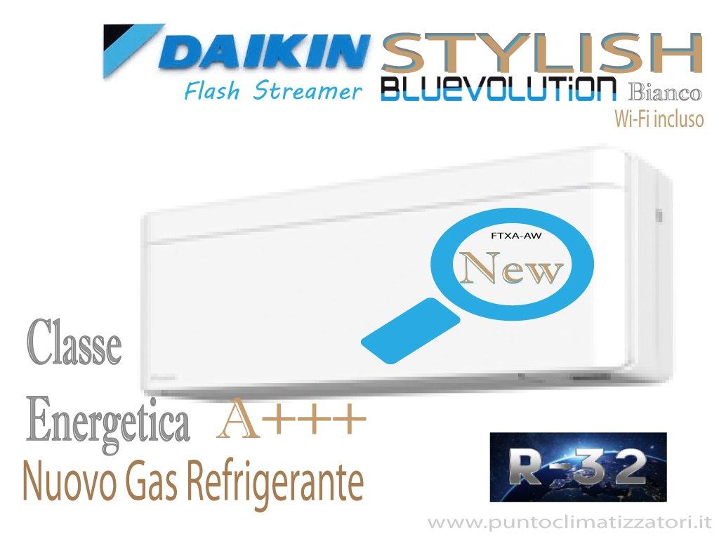 Daikin annuncia la nuova unità interna Stilish-Comfora-Perfera-2019 R32
