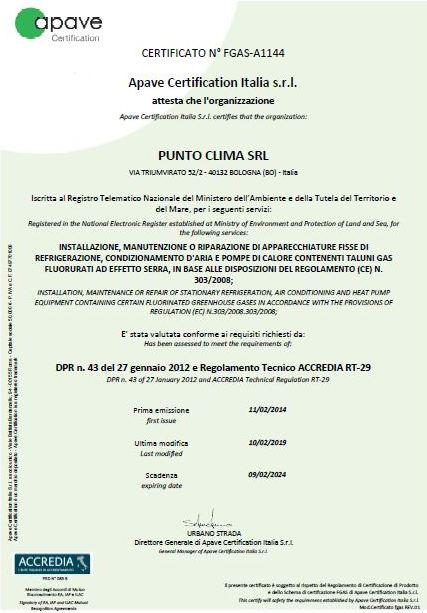 f-gas-certificato-impresa-punto-clima-bologna-www-puntoclimatizzatori